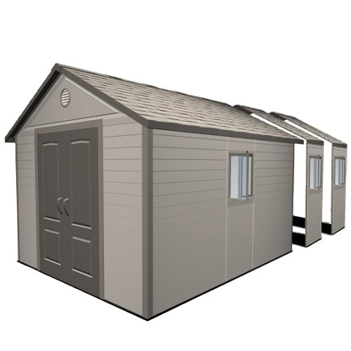 Lifetime 11x21 Plastic Shed