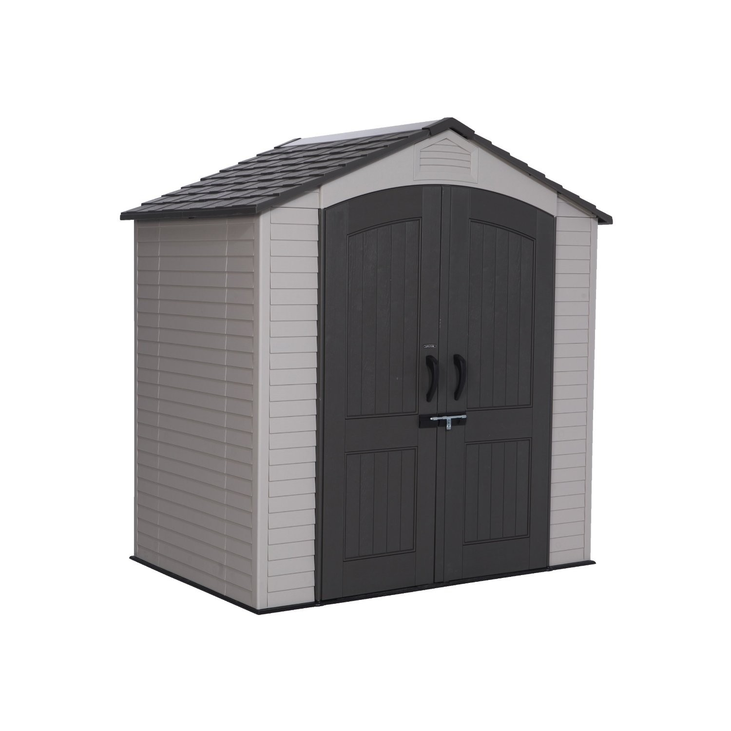 Lifetime 7x4 5 plastic shed for Garden shed 7x4